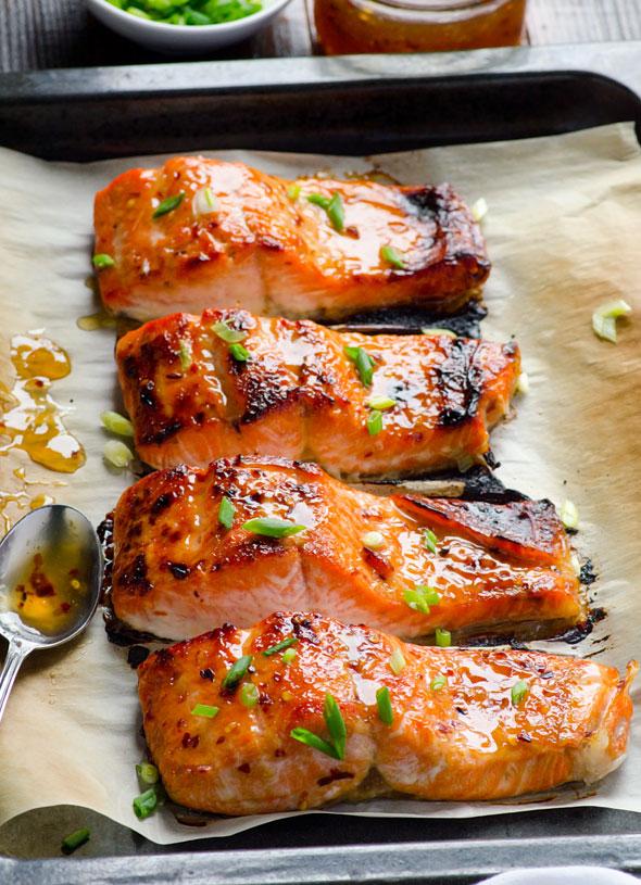 14. Clean Eating Blackened Thai Salmon