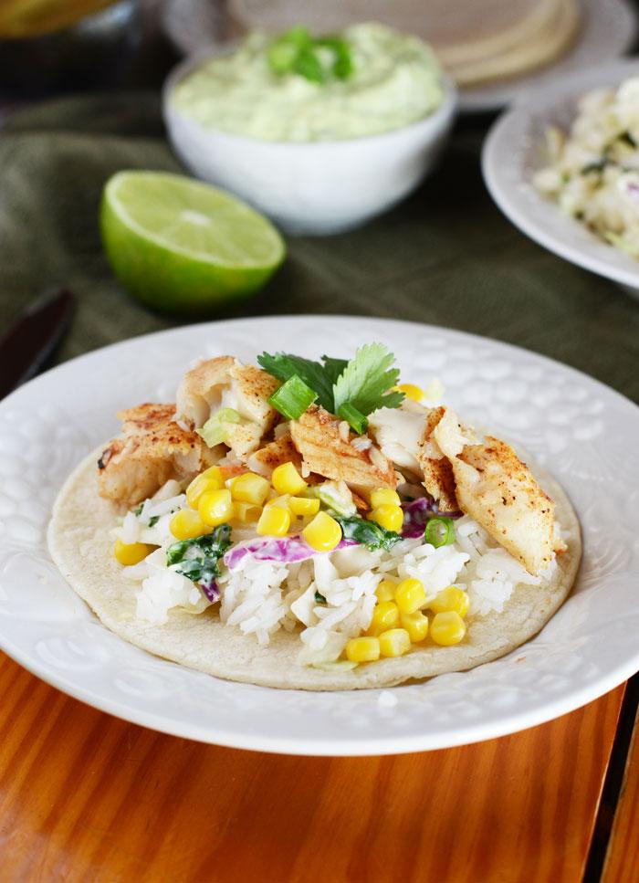 15. Jerk Fish Tacos