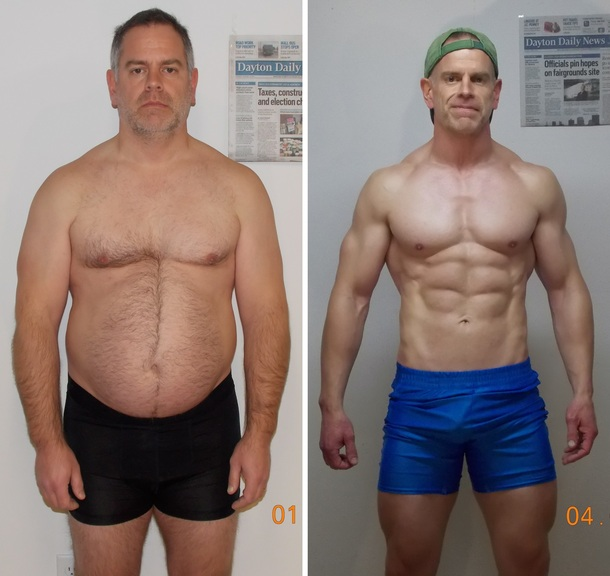 10 Amazing Older Men Transformations That Will Drag You To Gym! 4