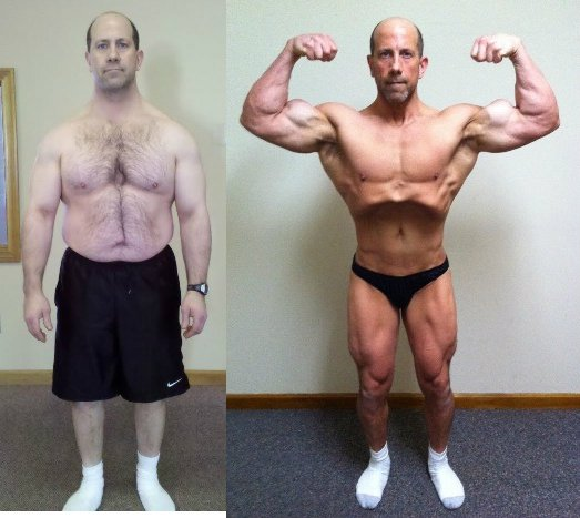 10 Amazing Older Men Transformations That Will Drag You To Gym! 7