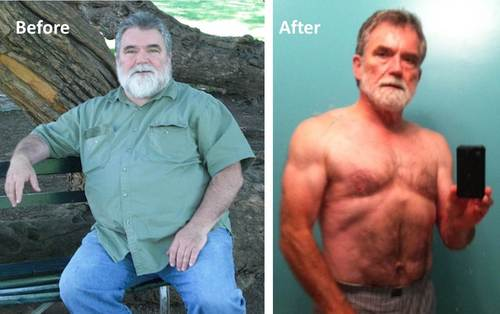 10 Amazing Older Men Transformations That Will Drag You To Gym! 8