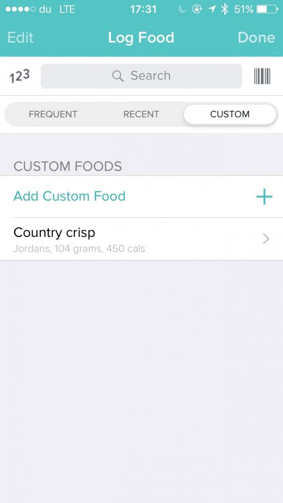 Fitbit app screenshot