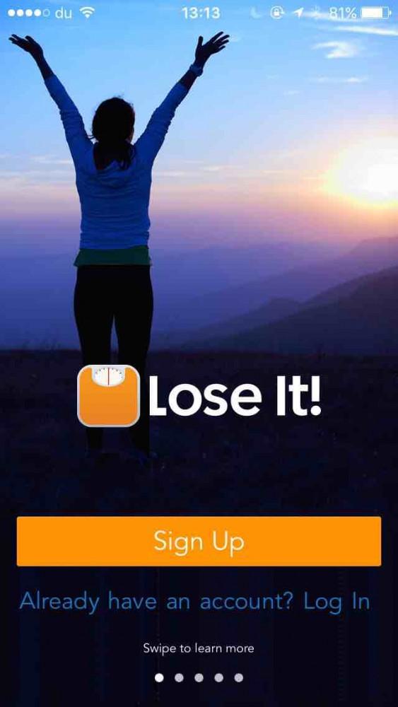 Lose It! app screenshot