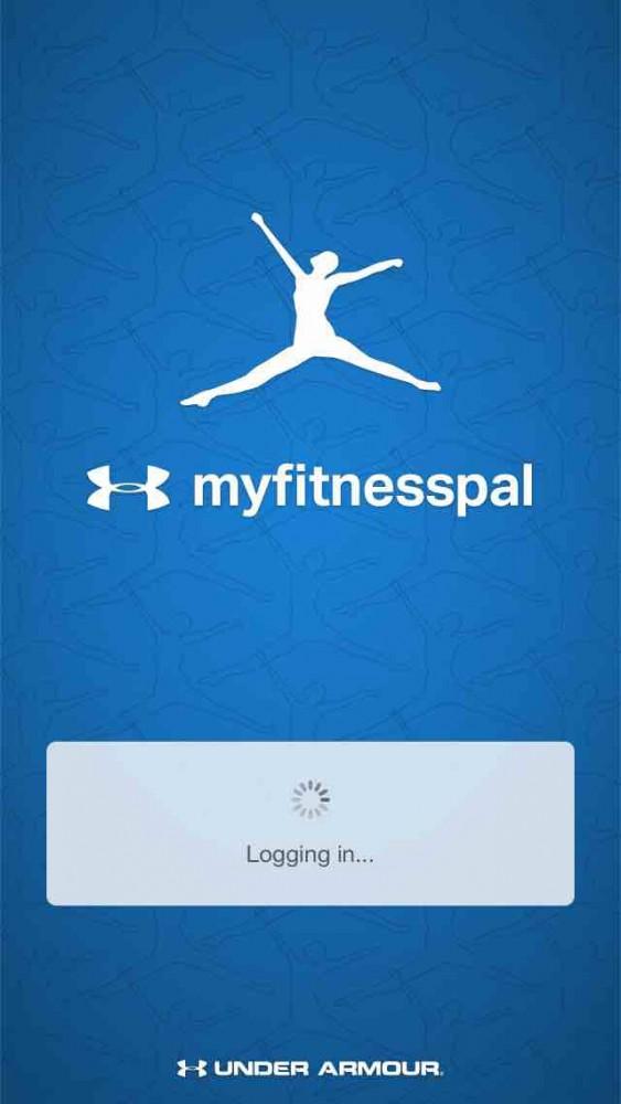 MyFitnessPal app screenshot