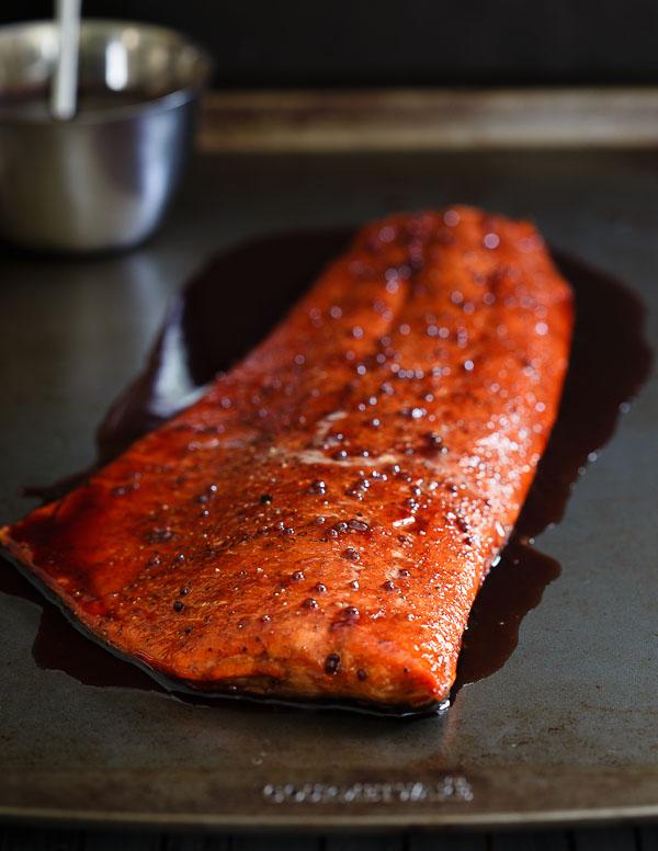 12. Tart Cherry Glazed Salmon Recipe